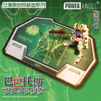 GUNDAM Mobile Suit Iron-Blooded Orphans Mouse Pad Anime Mouse Pad Table Mat