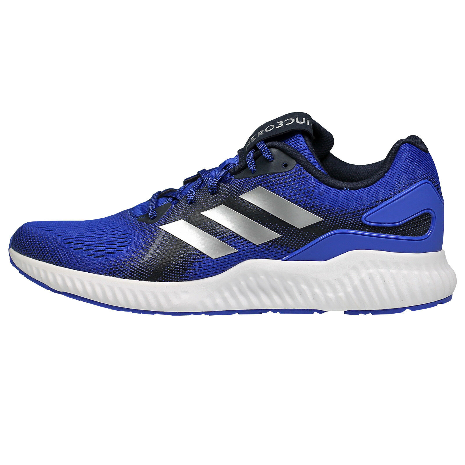 Adidas Aerobounce ST Men's Sneakers CG4615 - Blue, Silver, (NEW) Navy (NEW) Silver, Lists@$120 4964f3
