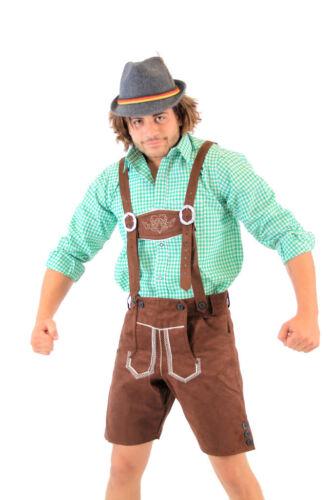 Adult Mens Holiday Oktoberfest German Bavarian Lederhosen Costume Shorts