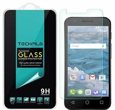 TechFilm® Tempered Glass Screen Protector Saver For Alcatel Streak (Cricket)