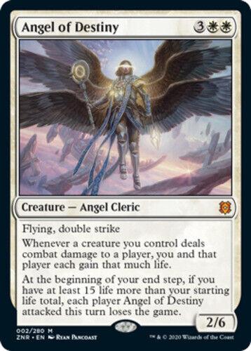 x1 Angel of Destiny MTG Zendikar Rising M M//NM English