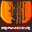 Aufkleber-Ranger-Motorhaube-passt-fuer-Ranger-2AB-Farbspur-4x4-Sticker-4-x-4-US Indexbild 1