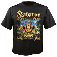 SABATON - CAROLUS REX T-SHIRT  (GRÖßE/SIZE L, SCHWARZ/BLACK)  NEU