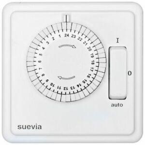 PréVenant Minuterie Complètement, Réservoir, 230 V/10 A, Avec Commutateur, Programme Du Jour, Blanc-afficher Le Titre D'origine