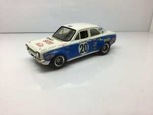 Code 3 1/43 Ford Escort Mk1 Rs1600 Gp4 Rally Car H.mikkola, By Provence Moulage