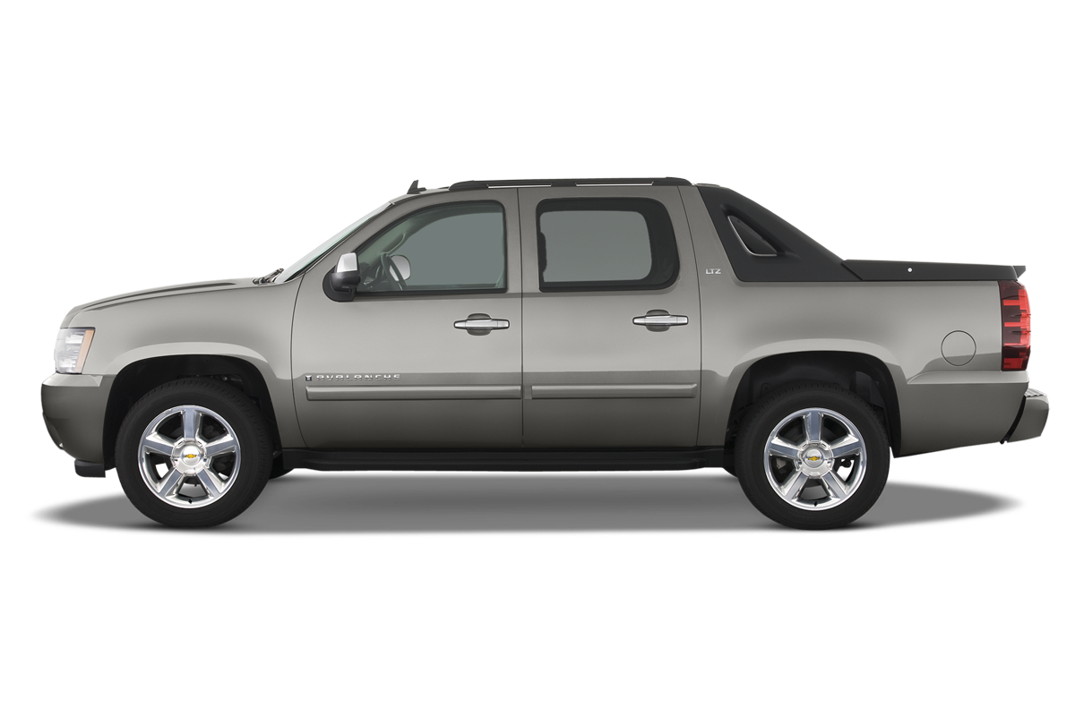 Chevrolet Avalanche side view