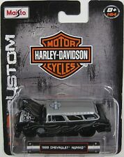 `55 Chevrolet Nomad  Flames Custom 1955 **MAISTO Harley Davidson ltd. 1:64 OVP