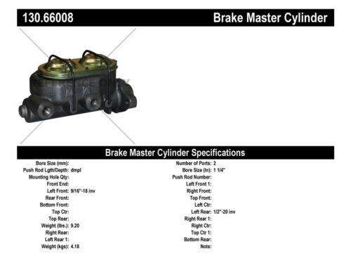 Preferred Centric 130.66008 Brake Master Cylinder-Premium Master Cylinder