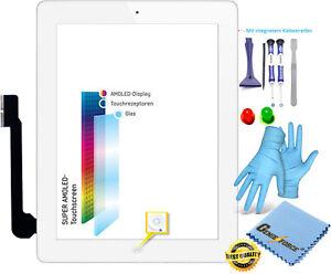 Écran Tactile Verre Numériseur Pour Apple iPad 3 avec OAV Câble Flex-Blanc-afficher le titre d`origine ajK3k5LP-08133355-689738781