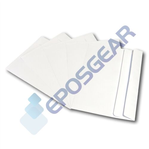 2000 A5 C5 Plain White Self Seal Wallet Letter Invite Envelopes 229mm x 162mm