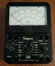 Vintage Simpson 260 Series 7 Analog Vom