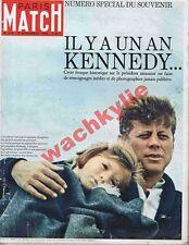Paris Match n°815 du 21/11/1964 John Kennedy numéro souvenir
