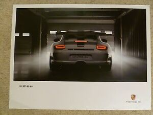 2011-Porsche-911-GT3-RS-4-0-Coupe-Showroom-Advertising-Poster-RARE-Awesome-L-K