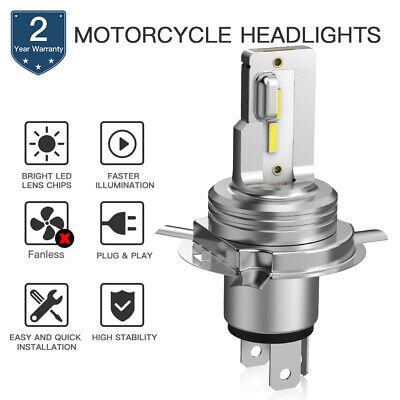 For Suzuki GSX1100G GS850GL GS850G H4 9003 LED Headlight Bulbs 80W White 1500LM