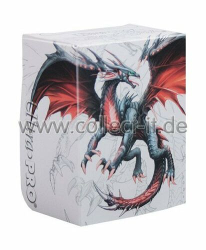 Black Dragon Standard Größe Ultra Pro Deck Box