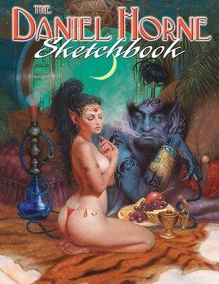 DANIEL HORNE SKETCHBOOK 64 pgs Softcover Art Book *NM//M*