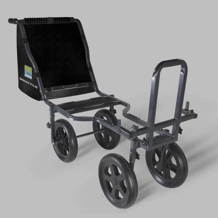 PRESTON INNOVATIONS 4 WHEEL SHUTTLE  BARROW new in box    to clear