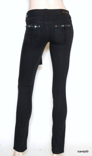 Nwt Fit Affliction 24 31 Raquel Slim Bukser Jeans Sort rtr6Zqxw