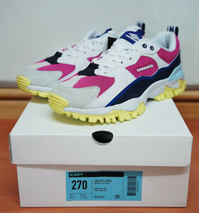 f77a9340ab480 UMBRO] BUMPY Pink Yellow Unisex Sneakers Ugly Shoes Dad Shoes US 9 ...