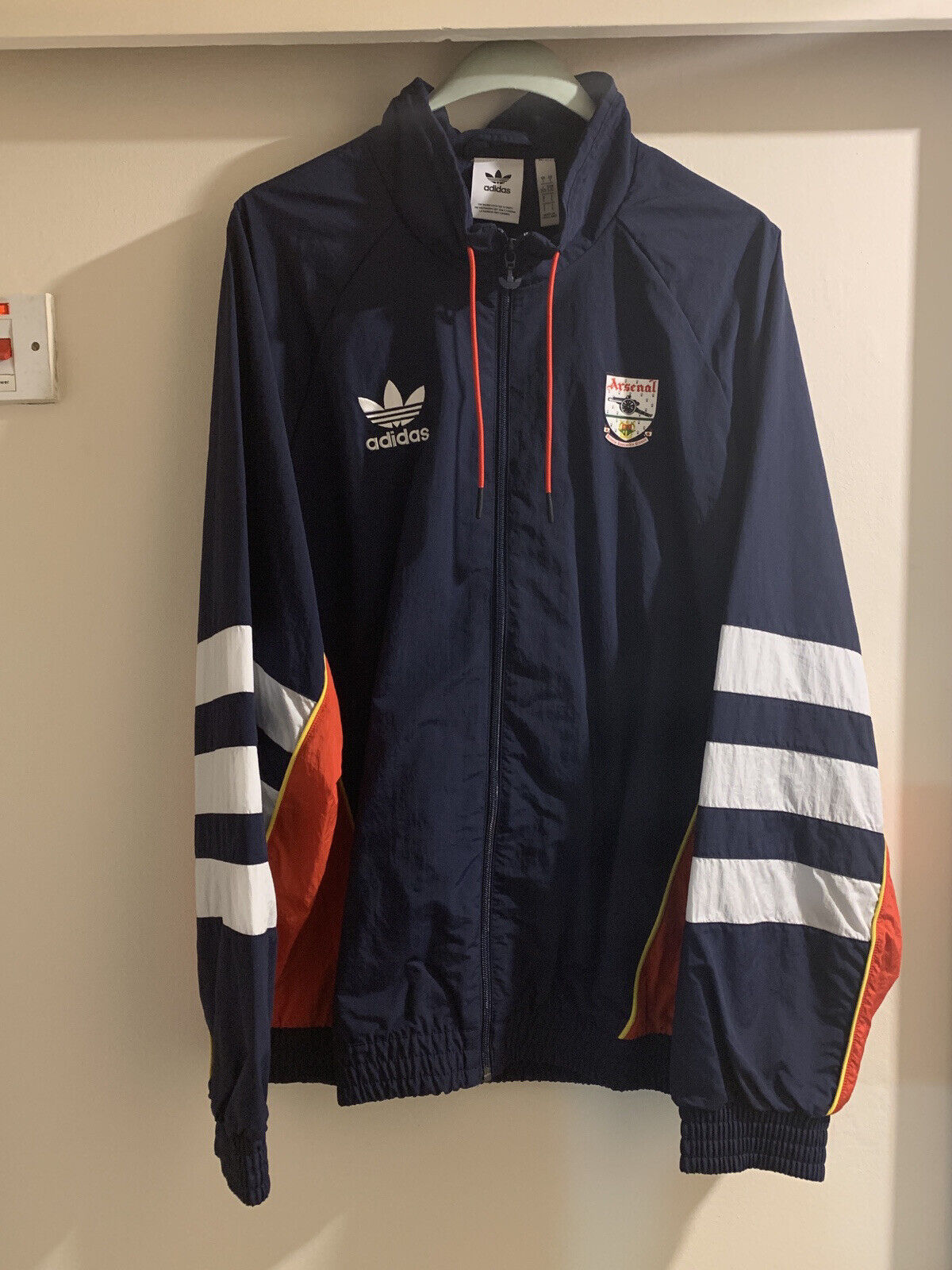 Adidas Arsenal 91/93 Trefoil Track Top size Large BNWT