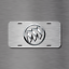 Buick License Plate Front Auto Tag Plate Lacrosse Enclave Simulated BRUSHED New