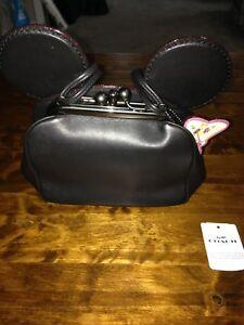 6c360d7f73a New Disney X Coach F29349 Kisslock Bag With Minnie Mouse Ears ...