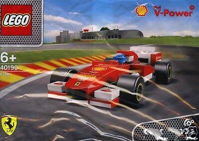 LEGO Ferrari Shell 40190 V-Power Ferrari F138 Formel1 mit Rückziehmotor