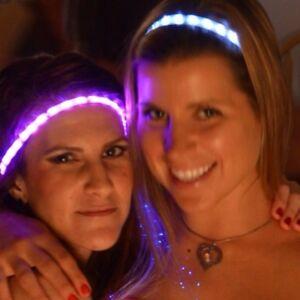 GLOWBY-BANDZ-ULTRA-BRIGHT-LED-STRIPS-HEADBANDS-RAVE-DANCE-PINK-GREEN-RED
