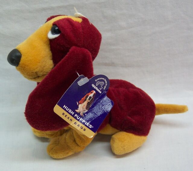 Applause Hush Puppies Chantilly Rust Basset Hound Dog Plush Stuffed