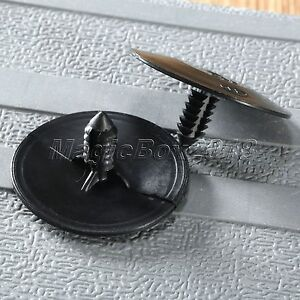 50pcs Car Hood Guard Panel Insulation Screw Rivet Fastener Clips For Chevy GM 600231265331