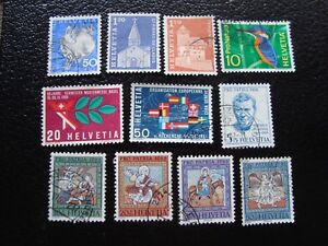 Switzerland-Stamp-Yvert-and-Tellier-N-763-A-773-Obl-A2-Stamp-Switzerland