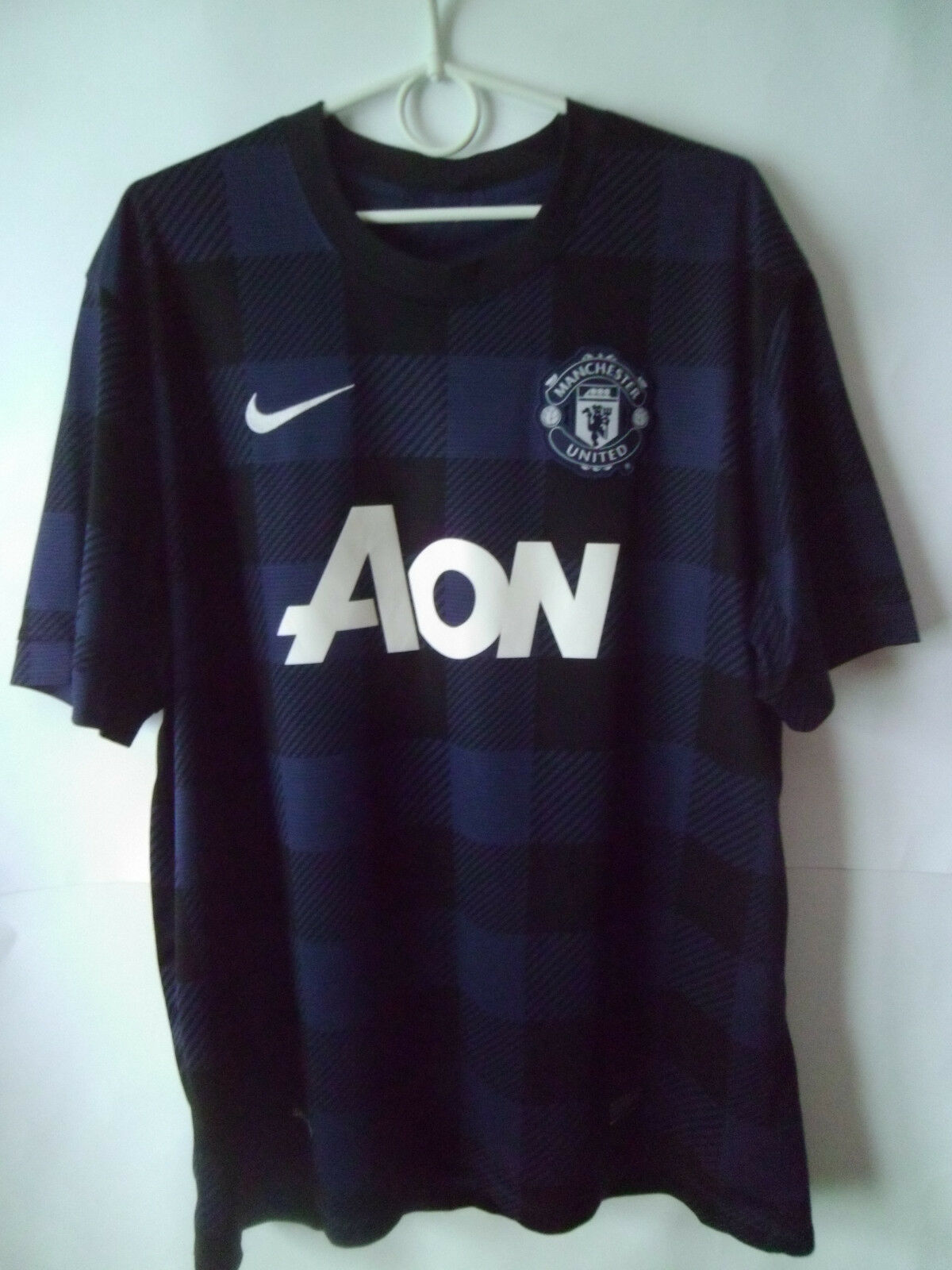EXCELLENT     2013-14 Manchester United Away Shirt Jersey Trikot XL  | Große Klassifizierung