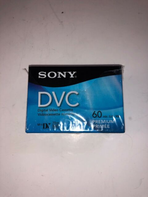 VIDEO 60 MINUTE,PREMIUM CHIPLESS DVC MINI DIGITAL Sold as 4 Packs 6MM