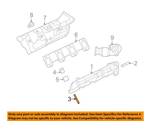 FORD OEM Exhaust Manifold-Manifold Stud W715713S431