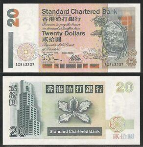 HONG-KONG-20-Dollars-1-1-1995-Pick-285b-UNC