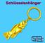 Schluesselanhaenger-Taschenanhaenger-Fisch-Gold-Silber-Bronze Indexbild 2