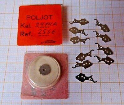 Lot Mit Ersatzteilen Für Poljot Kaliber 2414 A,armbanduhren,neuwertig.. Mit Einem LangjäHrigen Ruf