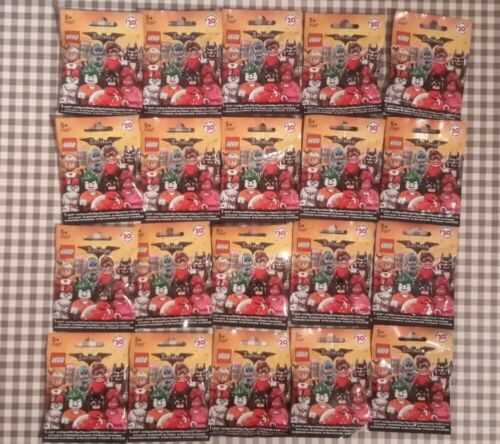Lego batman movie series 1 minifigures complete set 20 unopened factory sealed