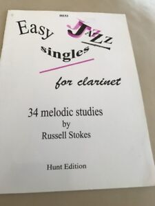 Easy-Jazz-Singles-Clarinet-Stokes-by-Russell-Stokes-Book