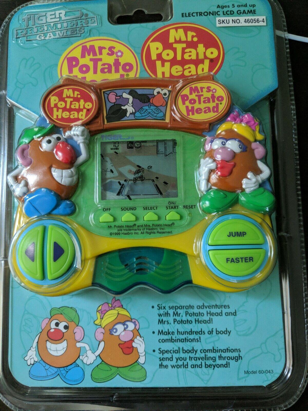 Tiger Premier Games Electronic LCD Game Handheld Mr Mrs Mrs Mrs