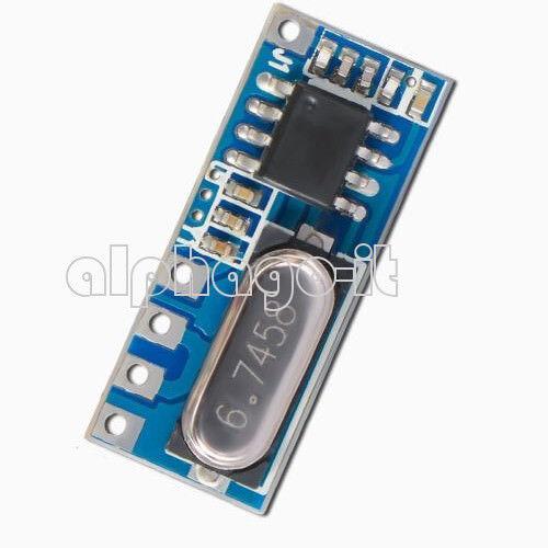 433MHz LR45B ASK Superheterodyne Wireless Receiver Module 200m Distance