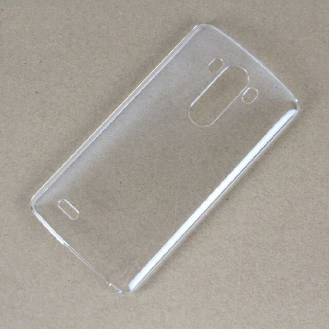 Clear Transparent Glossy Ultra Thin Hard Plastic Shell Case Cover For LG G3 D850