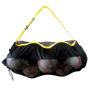 Football//Basketball Storage Bag Draw Cord Mesh Holdall Sack Ball Carry Net Only