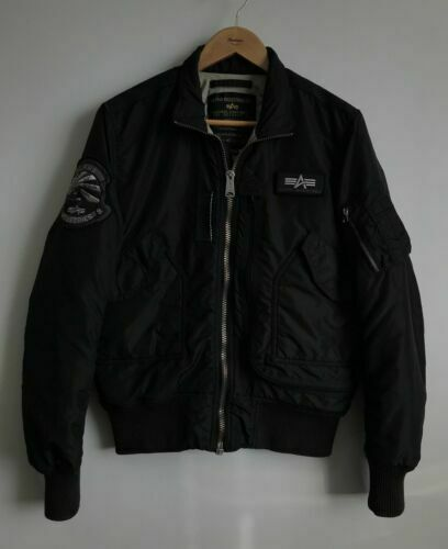 Alpha Industries Mens Alpha Wing Shell Fly Bomber