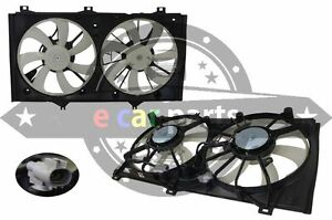 TOYOTA CAMRY AHV40R HYBRID 1/2010-ON RADIATOR & AIR CONDITIONER CONDENSER FAN