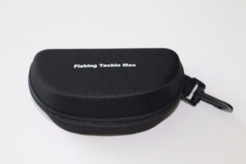 FTM Brillenetui Etui Schwarz Box Polarisations Brille Fishing Tackle Max