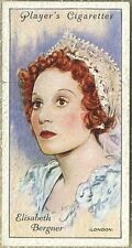 Elisabeth Bergner 1934 John Player Film Stars Tobacco Card 2nd Series #6