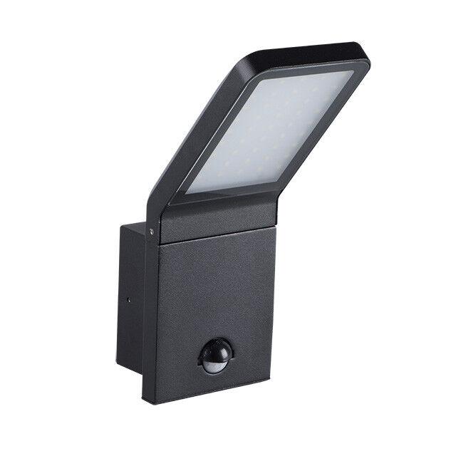 2 x Kanlux LED 9.5W Motion Sensor Outside Garden Lighting Wall Mount Light IP44