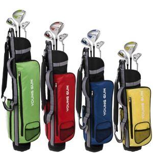 Young-Gun-ZAAP-EAGLE-Junior-Kids-Right-Hand-Graphite-Steel-Golf-Clubs-Set-BAG