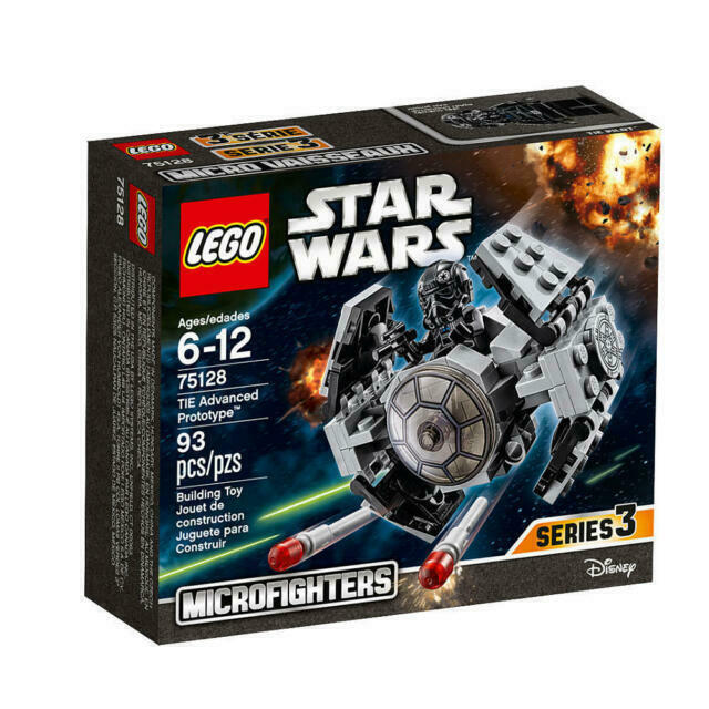 LEGO 75128 STAR WARS MICROFIGHTERS TIE Advanced Prototype NEW SEALED